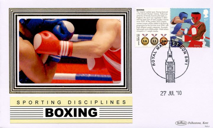 Olympic Games [Commemorative Sheet], Boxing