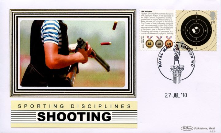 Olympic Games [Commemorative Sheet], Shooting