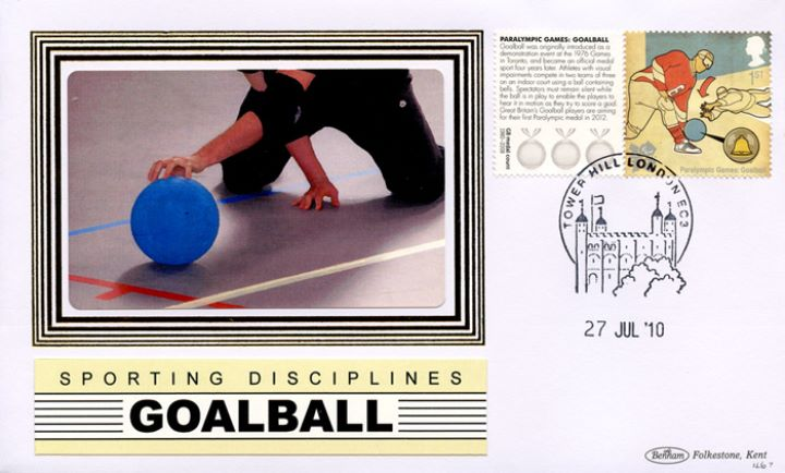 Olympic Games [Commemorative Sheet], Goalball