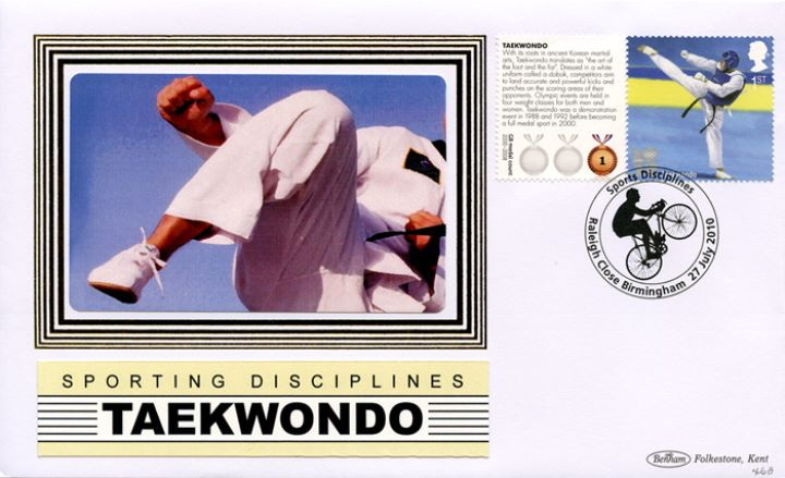 Olympic Games [Commemorative Sheet], Taekwondo