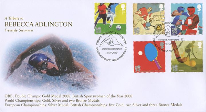 Olympic Games: Series No.2, Tribute to Rebecca Adlington