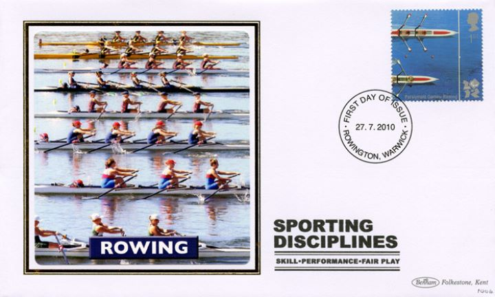 Olympic Games: Series No.2, Rowing