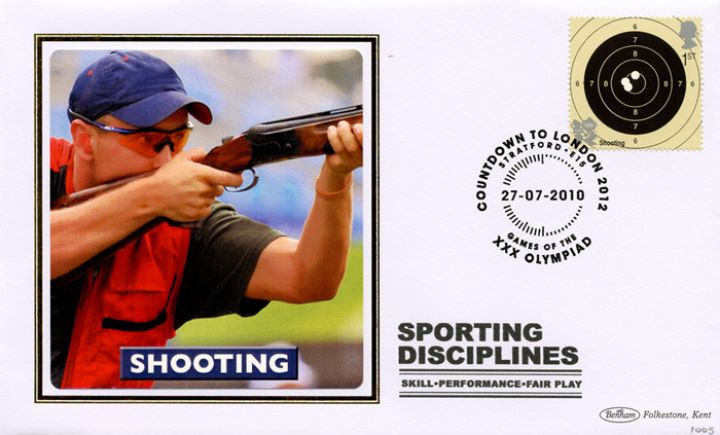 Olympic Games: Series No.2, Shooting