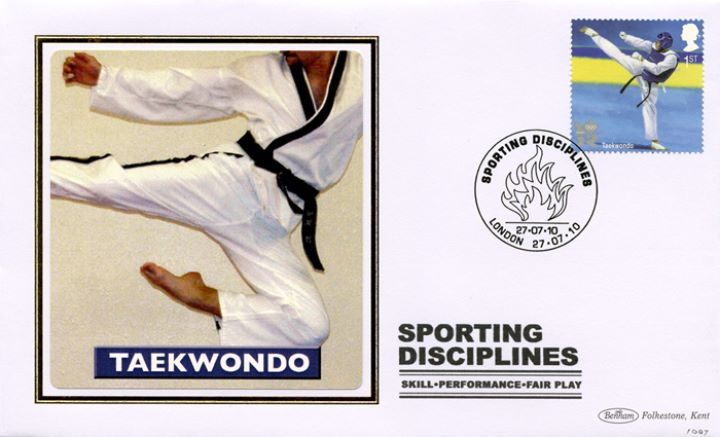 Olympic Games: Series No.2, Taekwondo