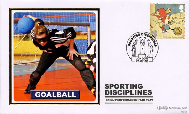 Olympic Games: Series No.2, Goalball