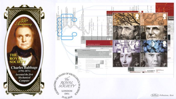 PSB: Royal Society - Pane 1, Charles Babbage