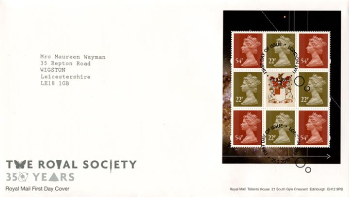 PSB: Royal Society - Pane 2, 350 Years