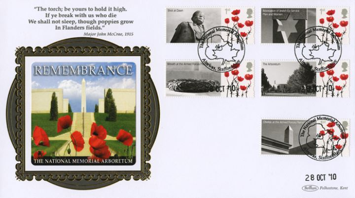 Remembrance [Commemorative Sheet], National Memorial Arboretum