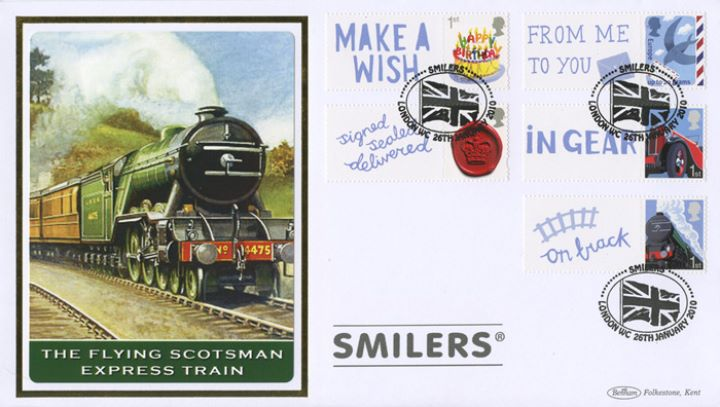 Smilers: Generic Sheet, Flying Scotsman