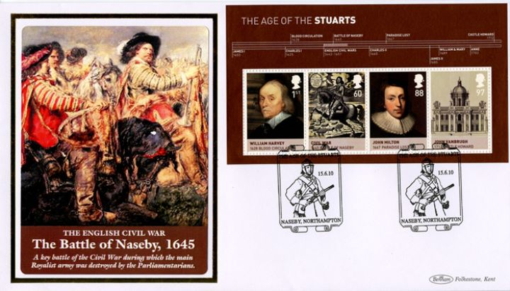 The Stuarts: Miniature Sheet, The Battle of Naseby
