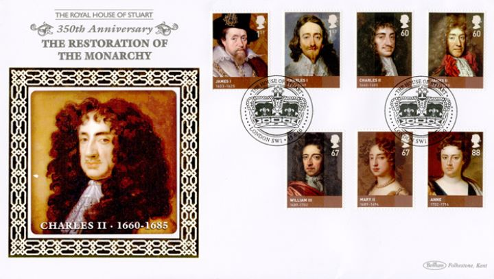 The Stuarts, Charles II - Restoration
