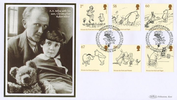 Winnie-the-Pooh, A A Milne and Christopher