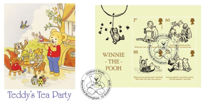 Winnie-the-Pooh: Miniature Sheet, Teddy's Tea Party