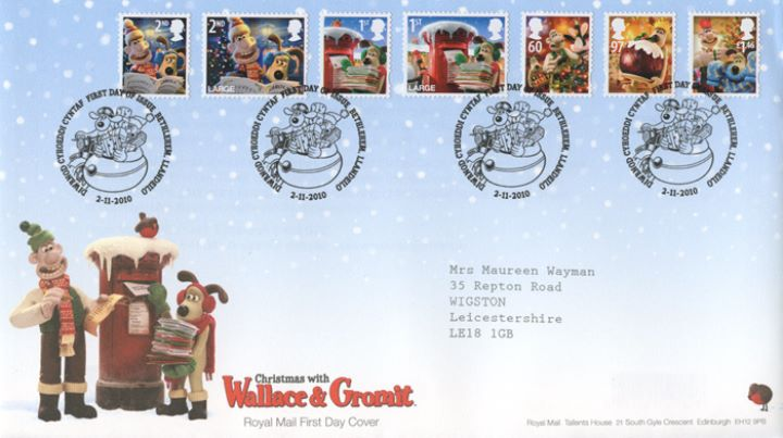 Christmas 2010, Wallace & Gromit