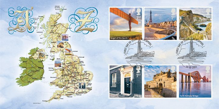 UK A-Z: (Part 1), British Isles A-F