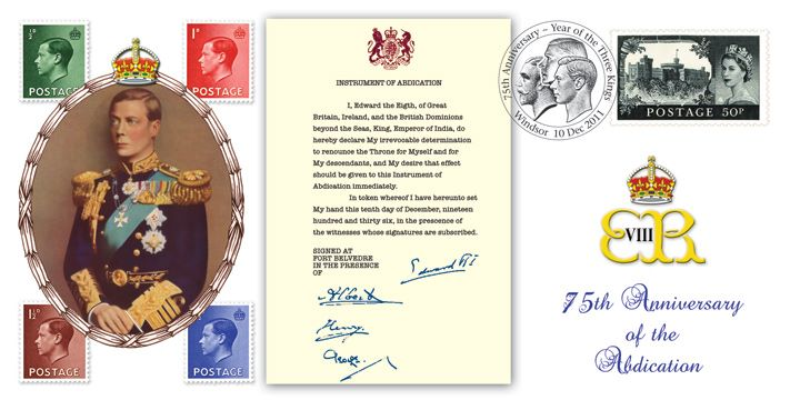 Instrument of Abdication, Edward VIII