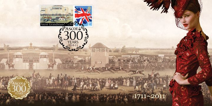 Royal Ascot, 300th Anniversary Cover 2
