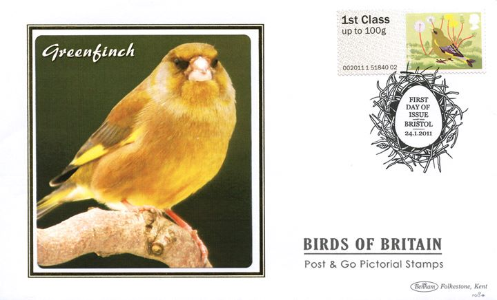 Birds of Britain: Series No.2, Greenfinch