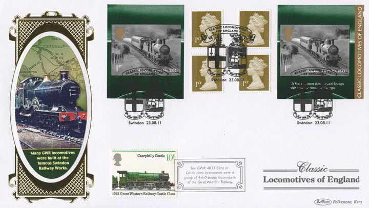 Self Adhesive: Classic Locomotives (1), GWR Locomotives
