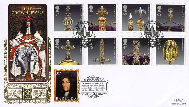 The Crown Jewels, King Charles II