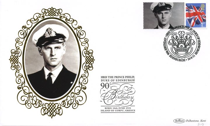 Prince Philip [Commemorative Sheet], Naval Officer
