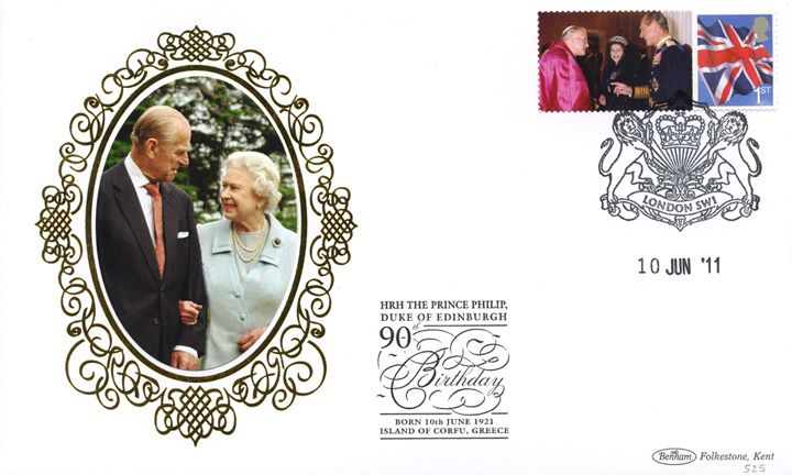 Prince Philip [Commemorative Sheet], Consort