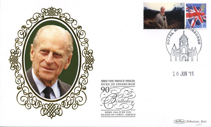 Prince Philip [Commemorative Sheet], Ornithologist