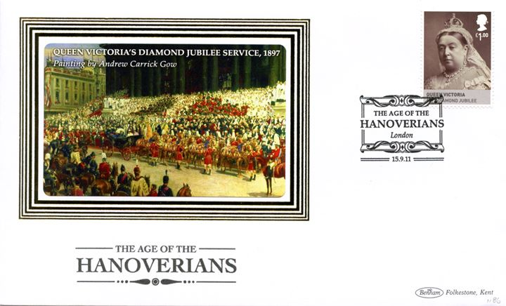 The Hanoverians: Miniature Sheet, Queen Victoria's Diamond Jubilee