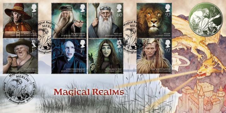 Magical Realms, Merlin and the Dragon