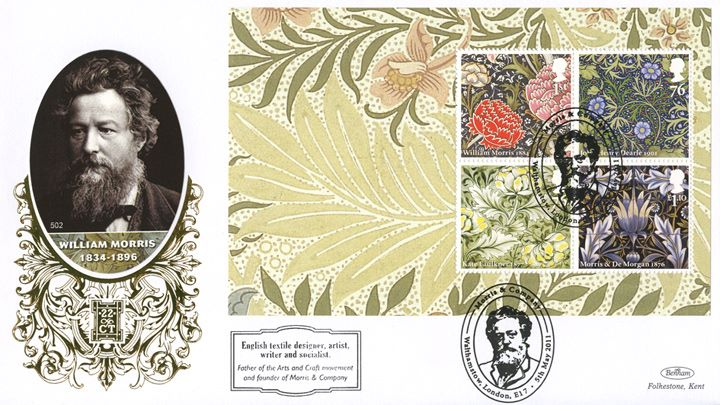 PSB: Morris & Co - Pane 3, William Morris