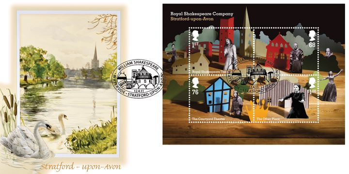 Royal Shakespeare Company: Miniature Sheet, Stratford-upon-Avon