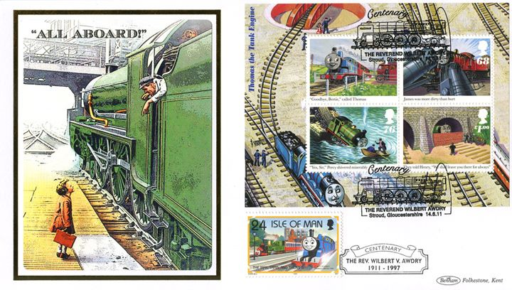 Thomas the Tank Engine: Miniature Sheet, 'All Aboard!'