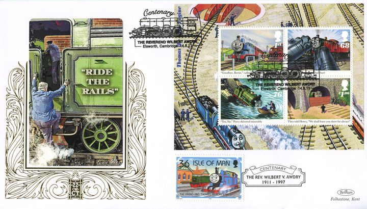 Thomas the Tank Engine: Miniature Sheet, Ride the Rails