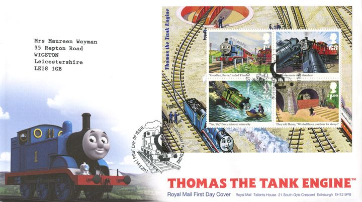 Thomas the Tank Engine: Miniature Sheet, Thomas the Tank Engine