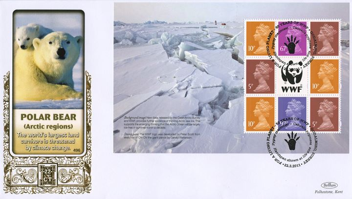 PSB: WWF - Pane 3, Polar Bear (Arctic Regions)