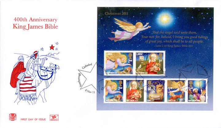 Christmas 2011: Miniature Sheet, The Three Kings