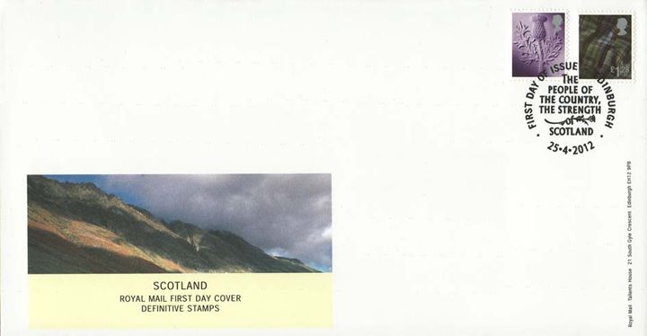 Scotland 87p, £1.28, Mountains and Fells