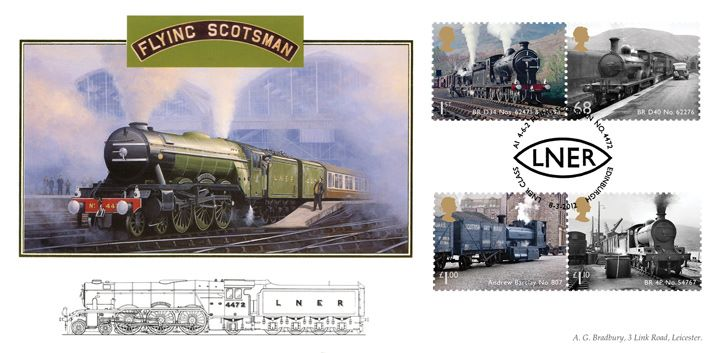 Classic Locomotives: Series No.2: Miniature Sheet, Flying Scotsman