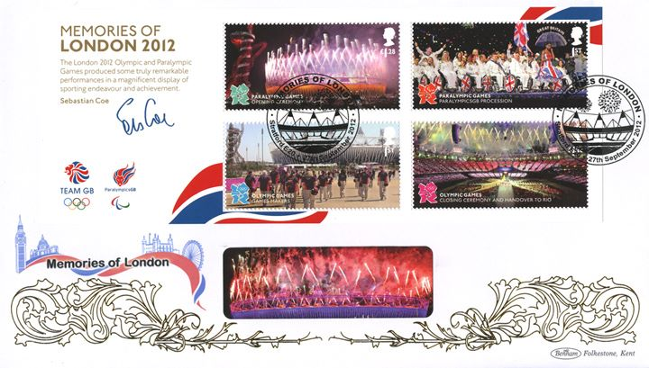 Memories of London 2012: Miniature Sheet, Opening Ceremony