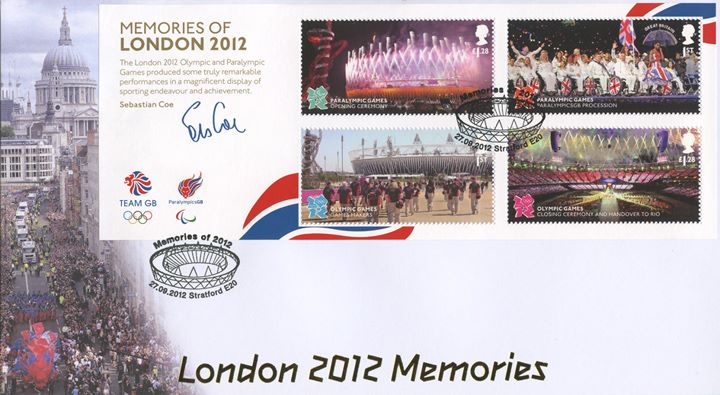 Memories of London 2012: Miniature Sheet, Victory Procession