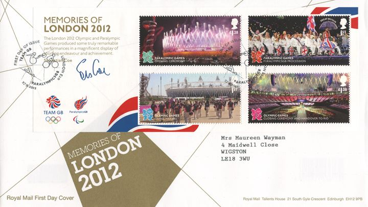 Memories of London 2012: Miniature Sheet, London 2012