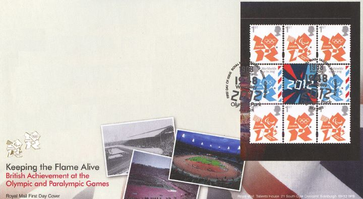 PSB: Welcome to the London 2012 Olympic Games: Pane 1, 1908, 1948, 2012 Stadiums