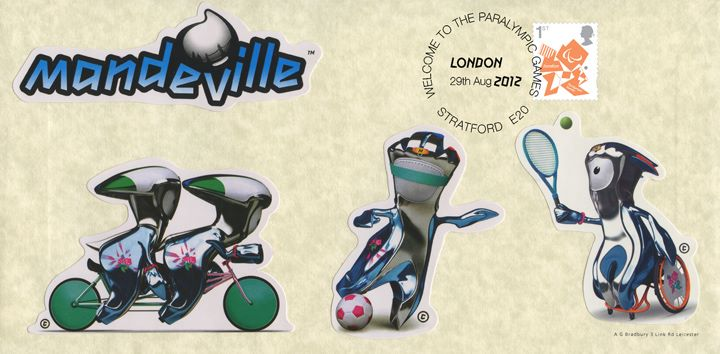 Welcome to the London 2012 Paralympic Games: Miniature Sheet, Mandeville Official Stickers