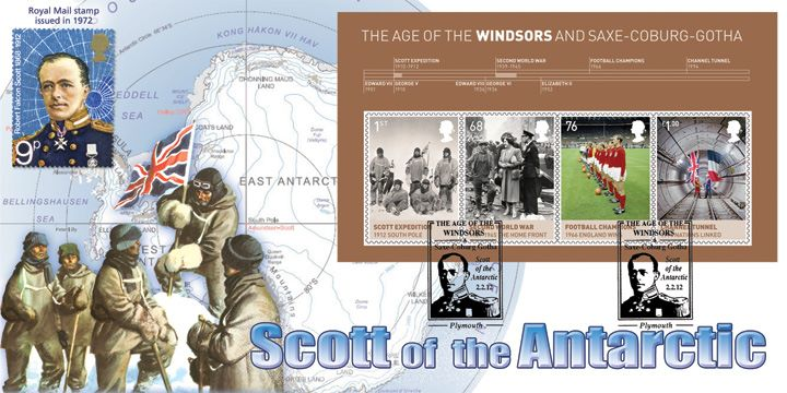 House of Windsor: Miniature Sheet, Scott of the Antarctic