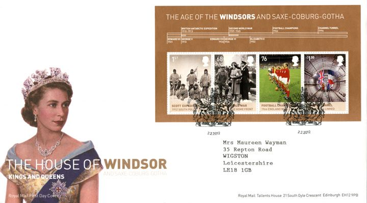 House of Windsor: Miniature Sheet, Queen Elizabeth II