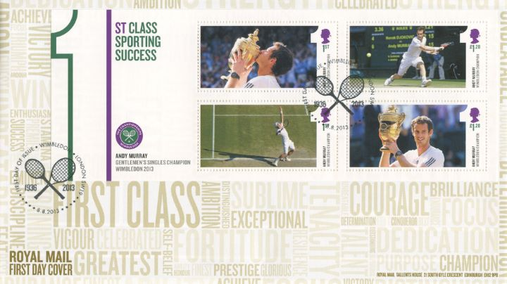 Andy Murray Wimbledon 2013, 1st Class Sporting  Success