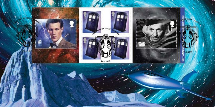 Self Adhesive: Doctor Who, Entering Vortex
