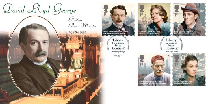 Great Britons, David Lloyd George