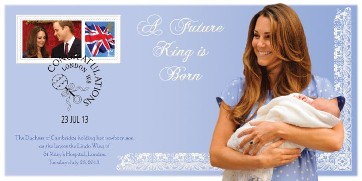 A Future King is Born, The Duchess of Cambridge