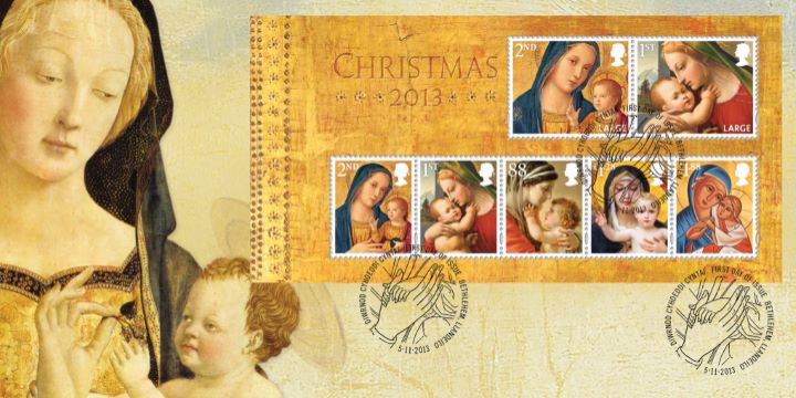 Christmas 2013: Miniature Sheet, Madonna and Child
